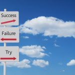 Q83:「失敗」しても後悔しない、「試さない」と後悔する。